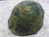 US AIRBORNE VIETNAM ERA PARATROOPER HELMET **SLIGHT TEARS IN FABRIC**
